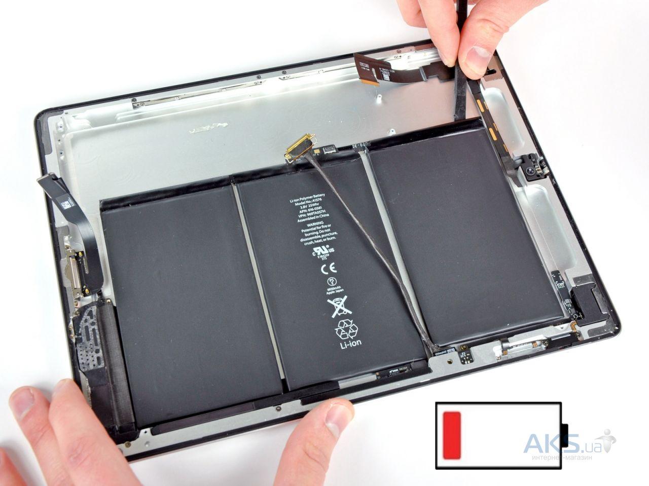 замена аккумулятора ipad 3 mini