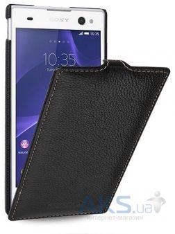 Чехол TETDED Leather Flip Series Sony Xperia C3 D2502 Black
