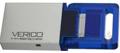 Флешка Verico USB 32Gb Hybrid Mini Blue