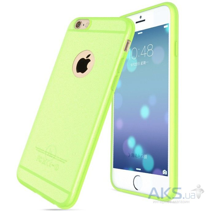Чехол Hoco Light Series Frosted Apple iPhone 6, iPhone 6S Green