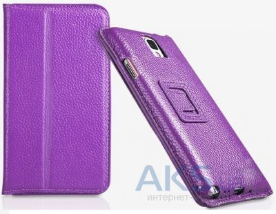 Чехол Yoobao Executive leather case for Samsung N9000 Galaxy Note 3 Purple (LCSAMN9000-EPL)