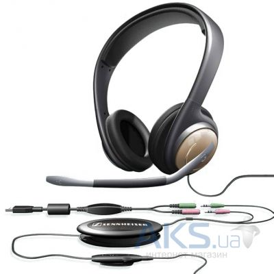 Гарнитура для компьютера Sennheiser Communications PC 155 USB Black/Silver