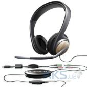 Наушники (гарнитура) Sennheiser Communications PC 155 USB Silver