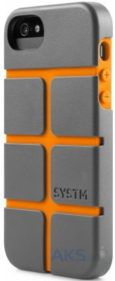 Чехол Incase SYSTM Chisel Case Apple iPhone 5, iPhone 5S, iPhone SE Asphalt Orange (SY10031)