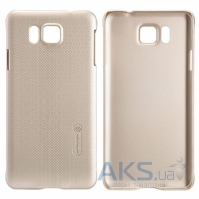 Чехол Nillkin Super Frosted Shield Samsung G850, S-5 Alpha Golden