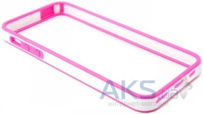 Чехол Devia Crystal Apple iPhone 5, iPhone 5S, iPhone SE Pink