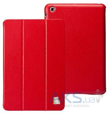 Чехол для планшета JustCase Leather Case For iPad mini Red (SS00014)