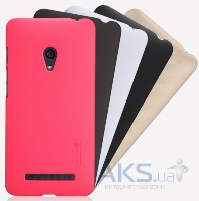 Чехол Nillkin Super Frosted Shield Asus ZenFone 5 A501CG Rose Red