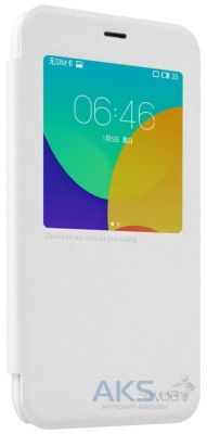 Чехол Nillkin Sparkle Leather Series Meizu M1, M1 mini White