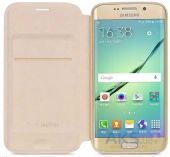 Вид 3 - Чехол Hoco Juice Nappa Series Samsung G928 Galaxy S6 Edge Plus Gold