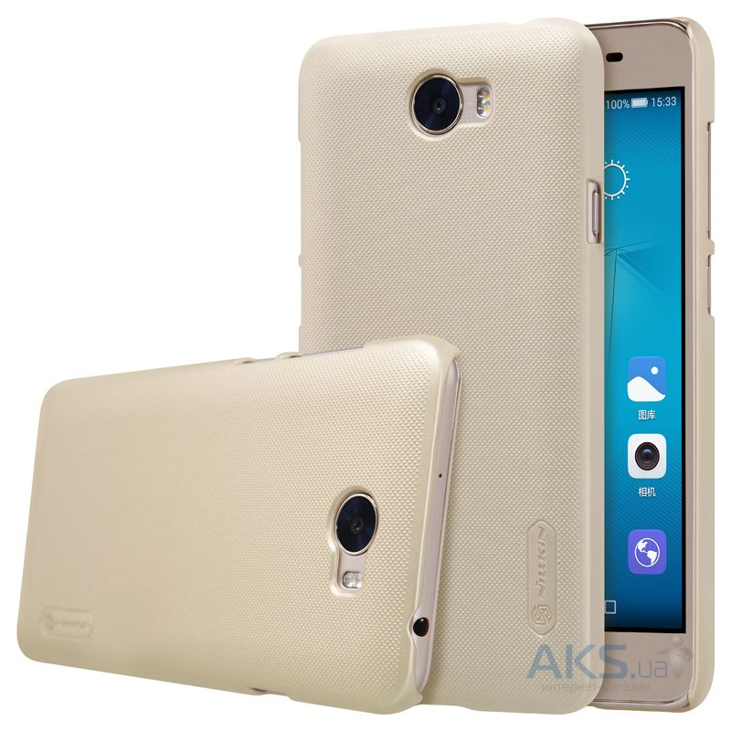 Чехол Nillkin Super Frosted Shield Huawei Y5II, Honor Play 5 Gold
