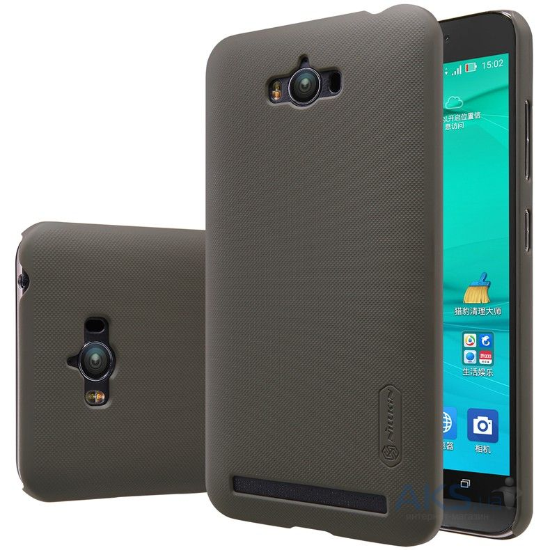 Чехол Nillkin Super Frosted Shield Asus Zenfone Max ZC550KL Brown