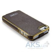 Вид 3 - Чехол iCarer Electroplating Apple iPhone 5, iPhone 5S, iPhone 5SE Brown