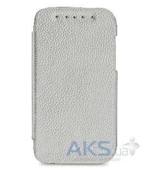 Чехол Melkco Leather Case Jacka Face Cover Book for HTC One SV C520e White (O2ONSTLCFB2WELC)