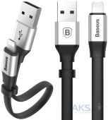 Кабель USB Baseus Two-in-one Portable Cable Lightning / Micro USB 0.2M Silver (CALMBJ-0S)