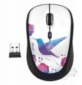 Компьютерная мышка Trust Yvi Wireless Mouse bird (20251) White