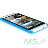 Вид 3 - Чехол ITSkins Zero.3 cover case for HTC One (M7) Blue (HTON-ZERO3-BLUE)