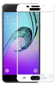 Защитное стекло Tempered Glass 3D Full Cover Samsung A310 Galaxy A3 2016 White