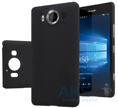 Чехол Nillkin Super Frosted Shield Microsoft lumia 950 Black