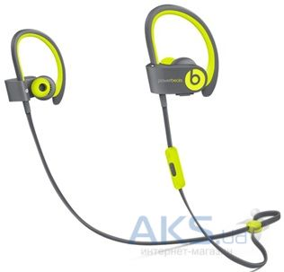 Наушники (гарнитура) Beats PowerBEATS 2 Wireless Active Collection Shock Yellow (MKPX2ZM/A)