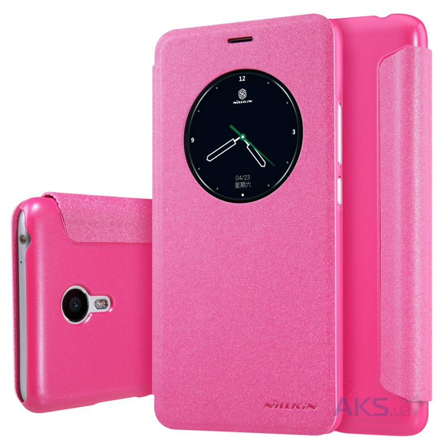 Чехол Nillkin Sparkle Leather Series Meizu M3 Note Pink