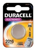 Батарейки Duracell CR2016 (DL2016) 1 шт