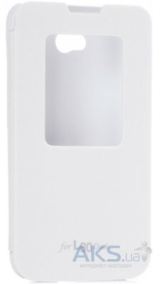 Чехол VOIA Flip Case for LG Optimus L80 Dual (D380) White