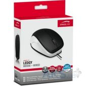 Компьютерная мышка Speedlink LEDGY (SL-610000-BKWE) black-white