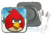 Mp3-плеер Slim МР3 mini heroes SD Angry Birds Red