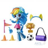 Игрушка Hasbro Мини-кукла Equestria Girls Rainbow Dash (B4909)