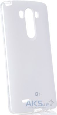 Чехол VOIA Jell Skin for LG Optimus G3 (D850) White