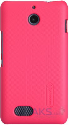 Чехол Nillkin Super Frosted Shield Sony Xperia E1 D2105 Red
