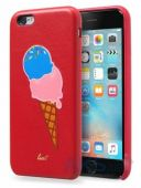 Чехол Laut Kitsch Series Apple iPhone 6, iPhone 6S Red (Icecream)