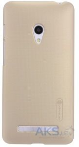 Чехол Nillkin Super Frosted Shield Asus ZenFone 5 A501CG Gold