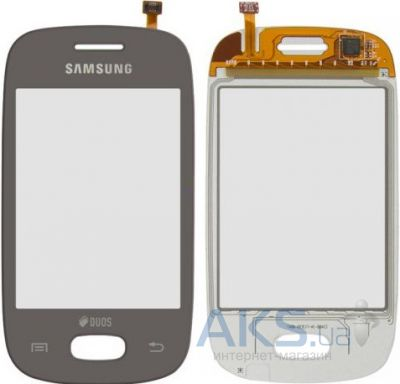 Сенсор (тачскрин) для Samsung Galaxy Pocket Neo S5310, Galaxy Pocket Neo S5312 Silver