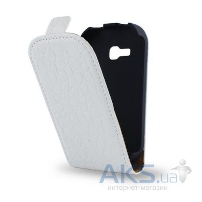Чехол Atlanta Book case for LG Optimus L Fino D335 Dual White Snake