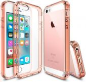 Чехол Ringke Fusion Apple iPhone 5, iPhone 5s, iPhone SE Rose Gold (822464)