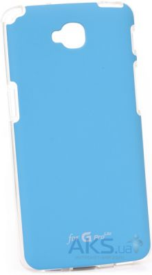 Чехол VOIA Jell Skin for LG Optimus L70 Dual (D325) blue