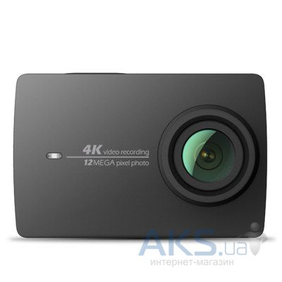 Экшн-камера Xiaomi Yi 2 4K Camera Basic Edition Night Black