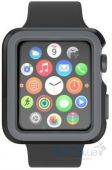 Speck CandyShell Fit Case for Apple Watch 42mm Black/Grey (SPK-A4135)