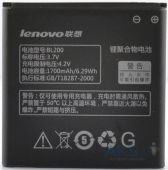 Аккумулятор Lenovo A580 IdeaPhone / BL200 (1700 mAh)