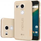 Чехол Nillkin Nature Series LG Google Nexus 5x H791 Transparent Gold