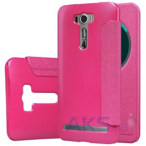Чехол Nillkin Sparkle Leather Series Asus Zenfone 2 Laser ZE601KL Pink