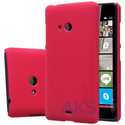 Чехол Nillkin Super Frosted Shield Microsoft Lumia 540 Red