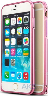 Чехол Mooke Metal Bumper for iPhone 6/6S Pink