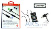 Аудиокабель Griffin AUX cable with mic for hands free (0,9 m)