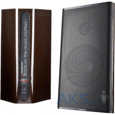 Колонки акустические Monster Clarity HD Monitor Speakers Bronze