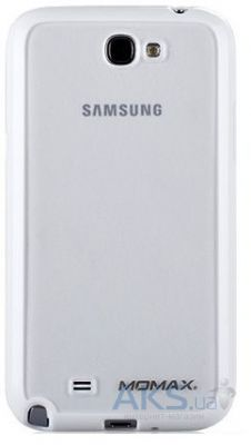 Чехол Momax iCase Pro cover for Samsung N7100 Galaxy Note II White (ICPSANOTE2W1W)
