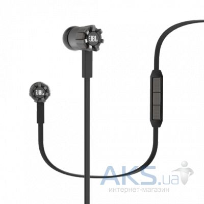 Наушники (гарнитура) JBL In-Ear Headphone Synchros S200A Black (SYNIE200ABLK)