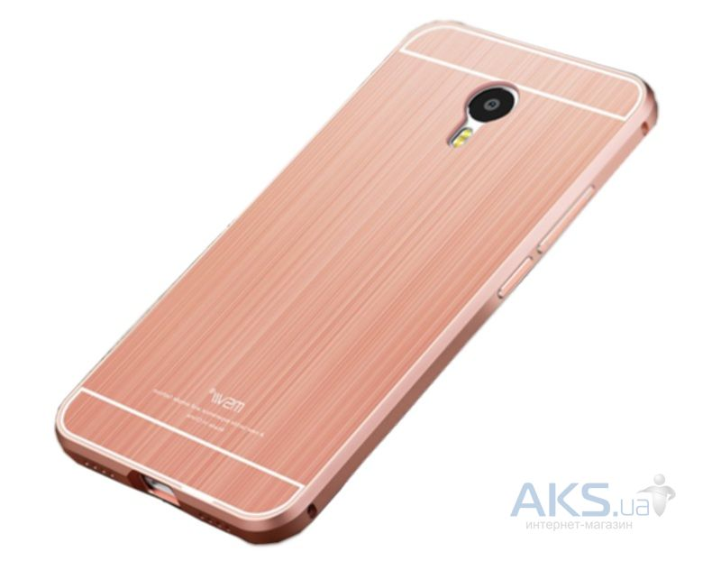 Чехол MSVII Metal Series Meizu M3 Note Rose Gold